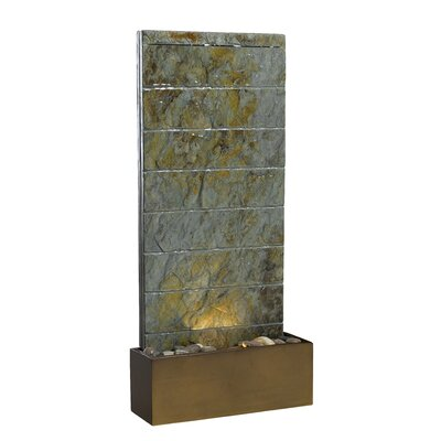 Kenroy Home Resin Brook Indoor/Outdoor Floor Fountain