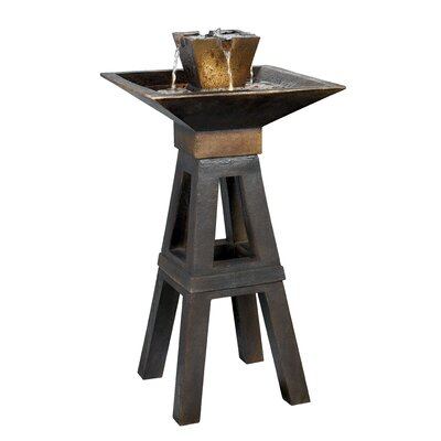 Kenroy Home Copper Kenei Outdoor Floor Fountain