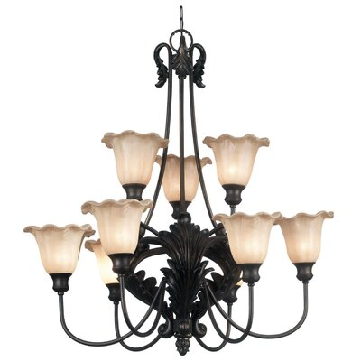 Kenroy Home Cromwell 9 Light Chandelier