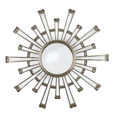 Cameron Wall Mirror in Silver