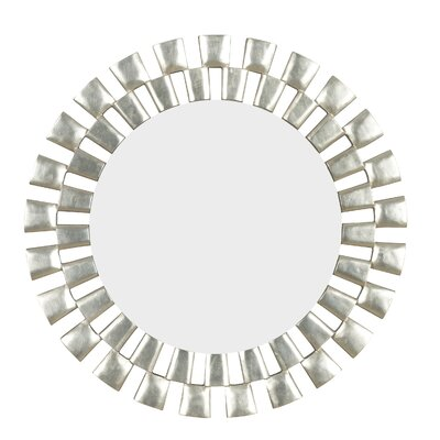 Kenroy Home Gilbert Wall Mirror in Silver
