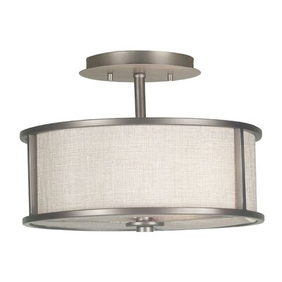 Kenroy Home Whistler 2 Light Semi Flush Mount