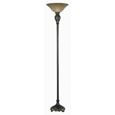Kenroy Home Contessa 1 Light Torchiere Floor Lamp