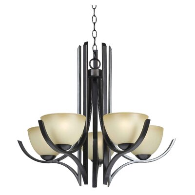 Kenroy Home Cypress 5 Light Chandelier