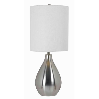 """Wildon Home ® Droplet 29"""" H Table Lamp with Drum Shade"""