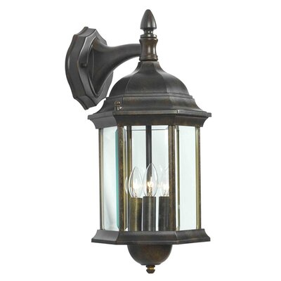 <strong>Kenroy Home</strong> Custom Fit 3 Light Wall Lantern