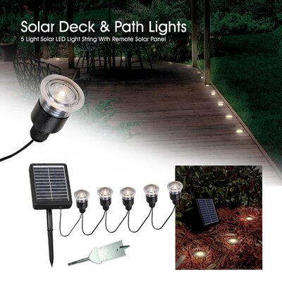 Kenroy Home Solar 5 Light String Set