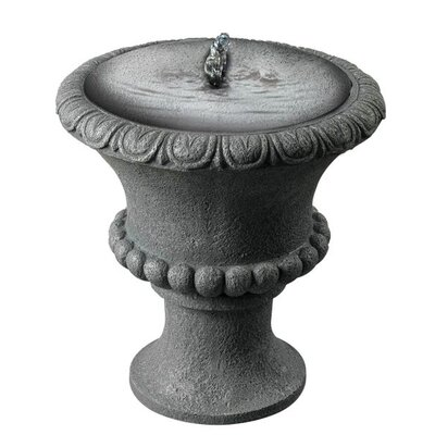 Garden Urn Solar Table Top Fountain