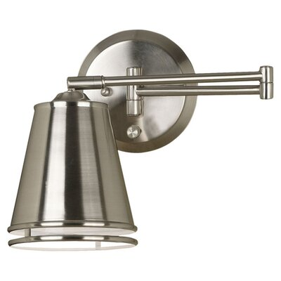 Kenroy Home Metro Swing Arm Wall Lamp