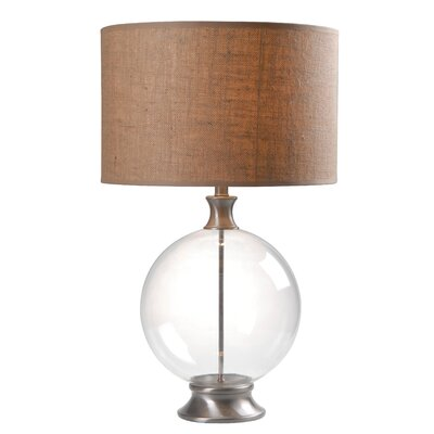 "Wildon Home ® Constellation 29"" H Table Lamp with Drum Shade"
