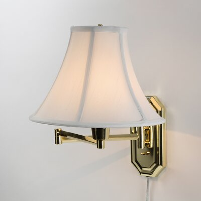 <strong>Kenroy Home</strong> Nathaniel Swing Arm Wall Sconce