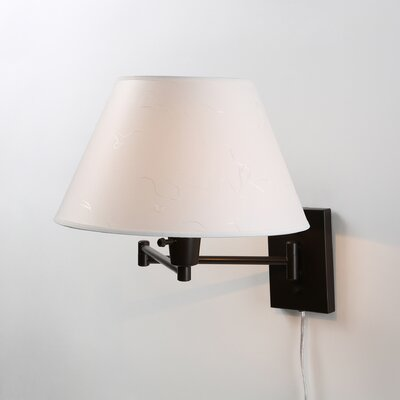 <strong>Kenroy Home</strong> Simplicity Swing Arm Wall Lamp
