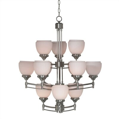 Kenroy Home Pierce 12 Light Chandelier