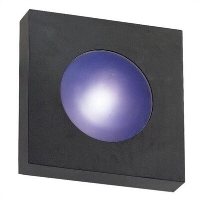 Wildon Home ® Burst Small Square 1 Light Wall Fixture/Flush Mount