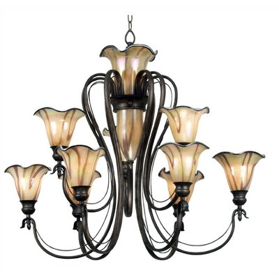 Kenroy Home Inverness 9 Light Chandelier