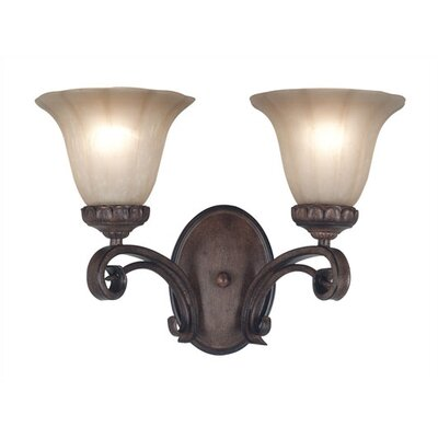 Kenroy Home Rochester 2 Light Vanity Light
