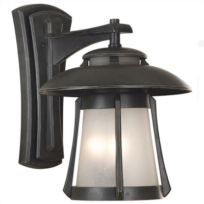 Kenroy Home Laguna  Outdoor Wall Lantern in Ebony Pearl