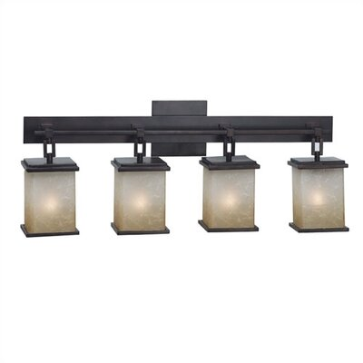 Kenroy Home Plateau 4 Light Vanity Light