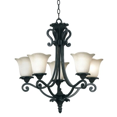 Kenroy Home Coronation 5 Light Chandelier