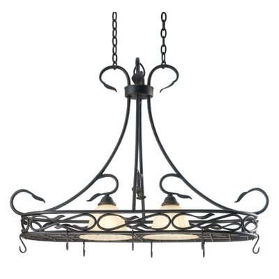 Kenroy Home Countryside 2 Light Hanging Foyer Pendant