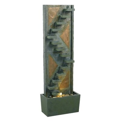 Kenroy Home Traverse Slate Floor Fountain
