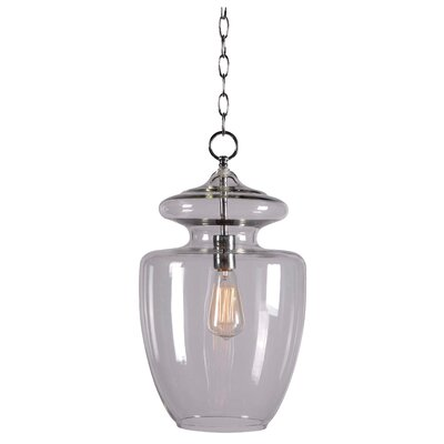 Apothecary 1 Light Foyer Pendant
