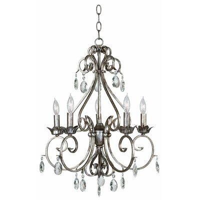 Kenroy Home Antoinette 5 Light Chandelier