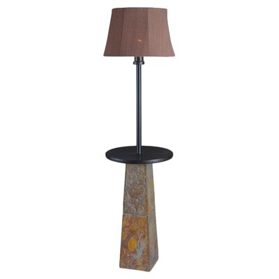 Kenroy Home Sleek 1 Light Outdoor Floor Lamp