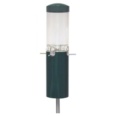 Nature Products Green Classic Pole Mount Feeder