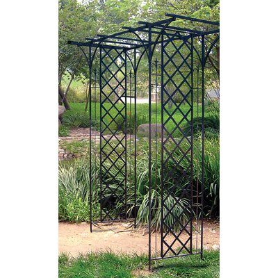 Panacea Garden Arbor with Lattice