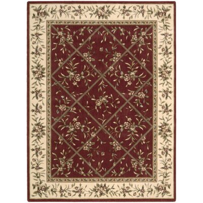 Somerset Burgundy Rug
