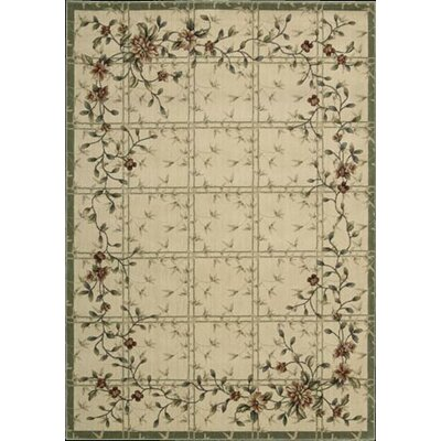 Nourison Cambridge Ivory Green Rug