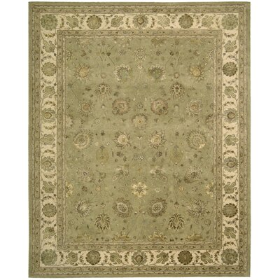 Nourison Light Green/Tan Rug