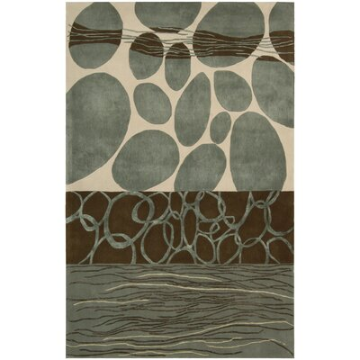Dimensions Blue/Brown Rug