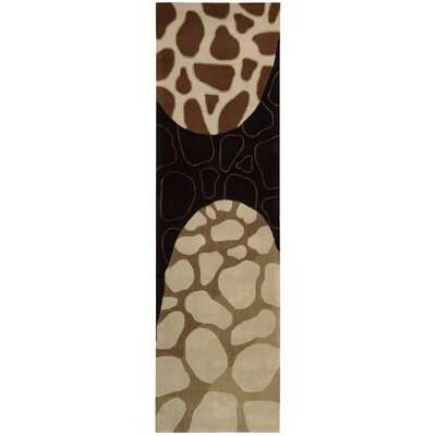 Nourison Dimensions Brown Rug