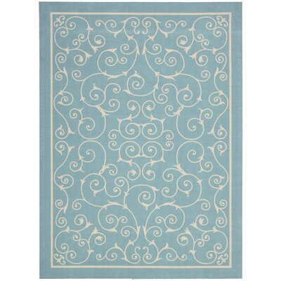 Nourison Home & Garden Light Blue Rug