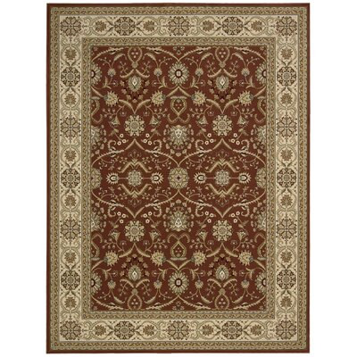 Persian Crown Brick Rug