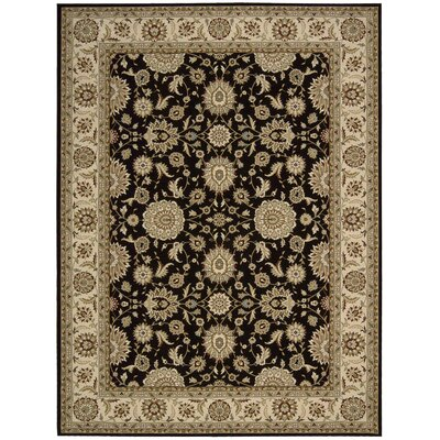 Persian Crown Black Rug