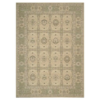 Persian Empire Sand Checked Rug