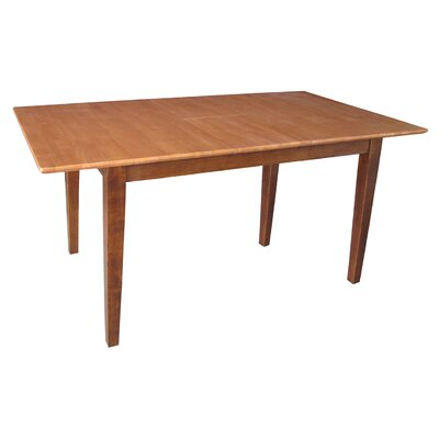 International Concepts Shaker Extendable Dining Table