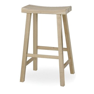 "International Concepts 29"" Saddleseat Stool"