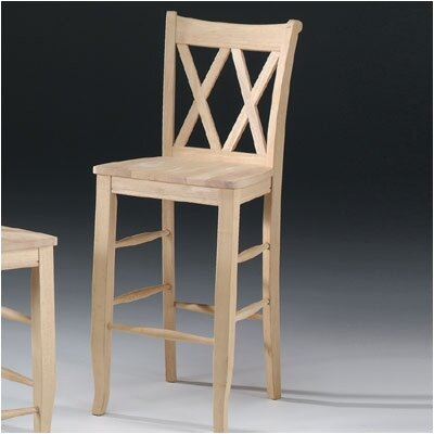 "International Concepts Unfinished Wood 30"" Bar Stool"
