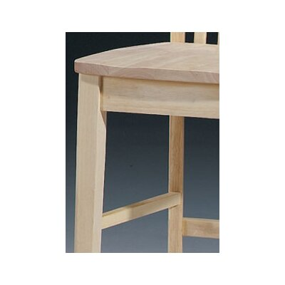 "International Concepts 24"" Mission Stool"