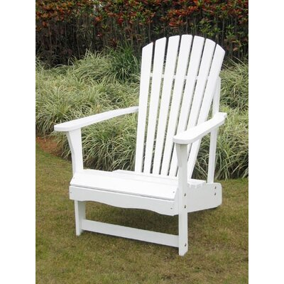 International Concepts Adirondack White Chair