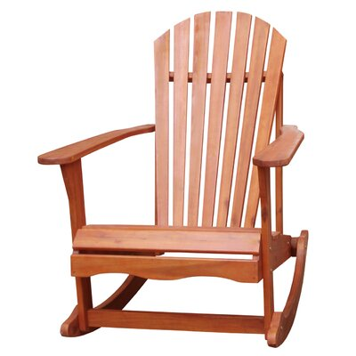 International Concepts Adirondack Porch Rocker in White & Reviews ...