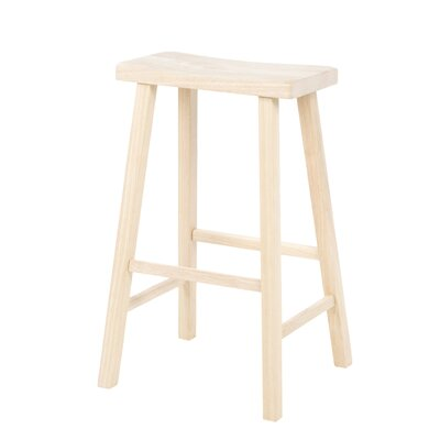 "International Concepts Saddleseat 29"" Bar Stool"