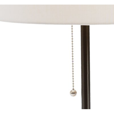 Fangio Lighting Table Lamp with Hard Back Linen Shade