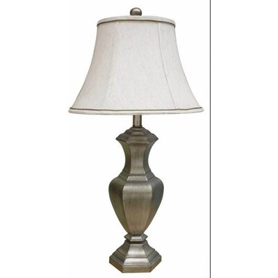 Fangio Lighting Table Lamp with Round Softback Shade