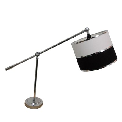 "Fangio Lighting 28"" H Modern Table Lamp with Drum Shade"