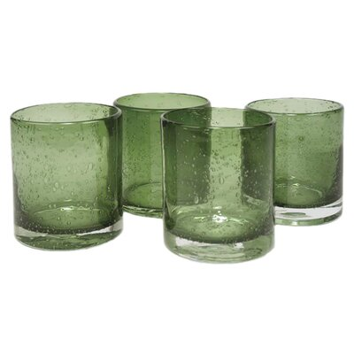 Artland Iris Double Old Fashioned Glass in Sage